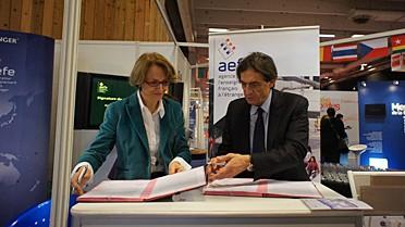 Anne-Marie Descôtes et Pascal Charvet
