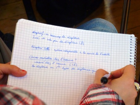 Prise de notes