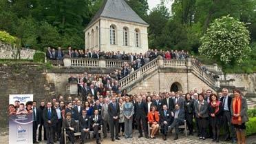 Photo de groupe du séminaire 2012