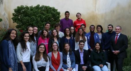 Photo de groupe à Poitiers