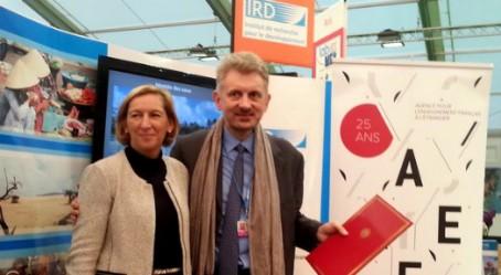 Hélène Farnaud-Defromont et Jean-Marc Châtaigner