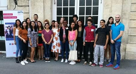 Photo de groupe à Bordeaux
