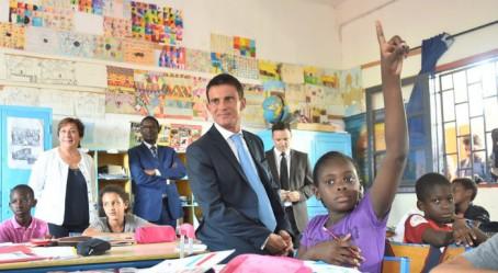 Dans une salle de classe de l'école franco-sénégalaise