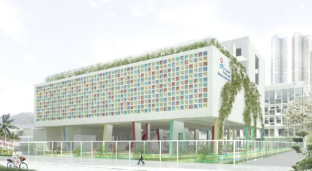 Maquette d'architecture du nouveau campus