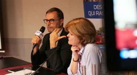 Olivier Brochet et Myriam Grafto
