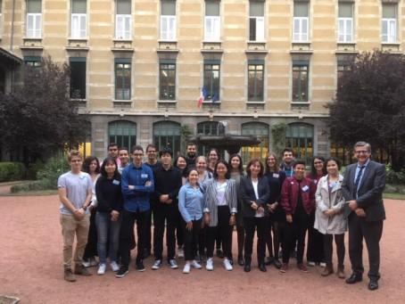 Photo de groupe à Lyon