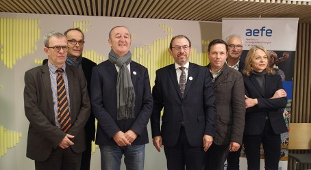 Acteurs du projet de l'Orchestre des lycées français du monde