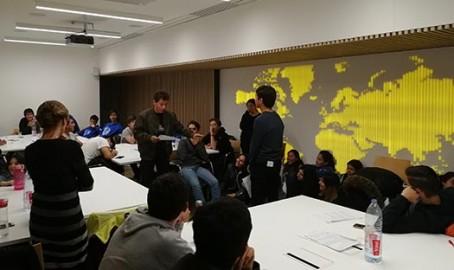 Atelier orientation au siège de l'AEFE