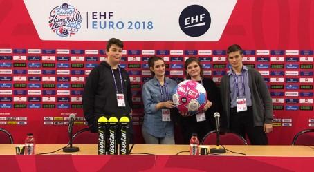 L'équipe des JRI du Lycée français de Budapest