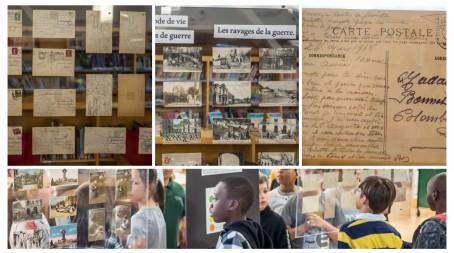 Exposition de cartes postales à Ottawa