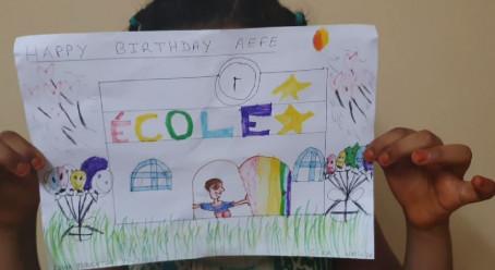 De la part d'un élève de l'école de la Nativité à Djibouti